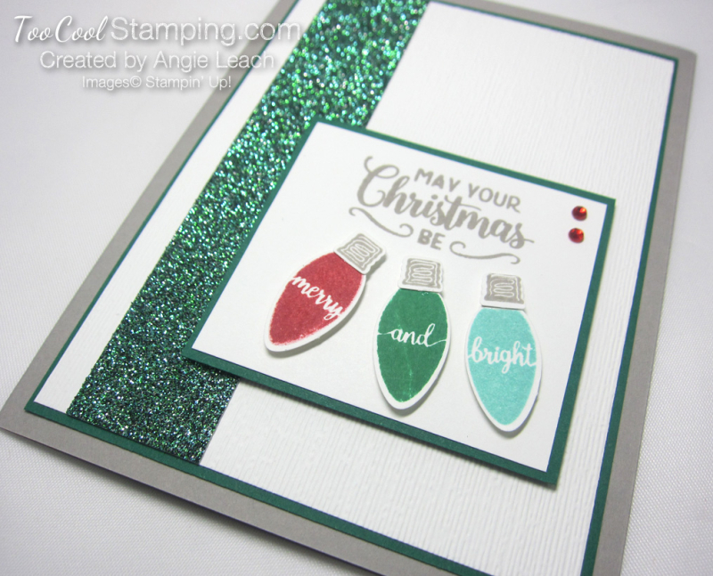 Making christmas merry & bright - spruce x3