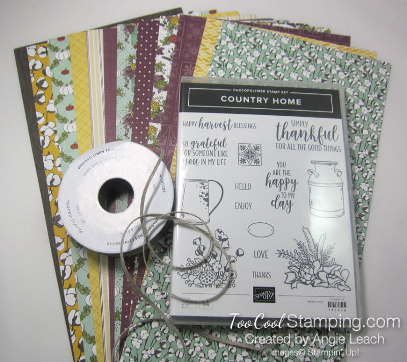 Country home class kit contents