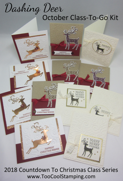 Dashing Deer CTC Class Cards