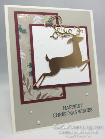 Dashing Deer - Jennifer Hill 1