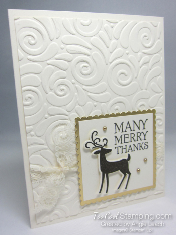 Dashing deer merry - square many merry 1b