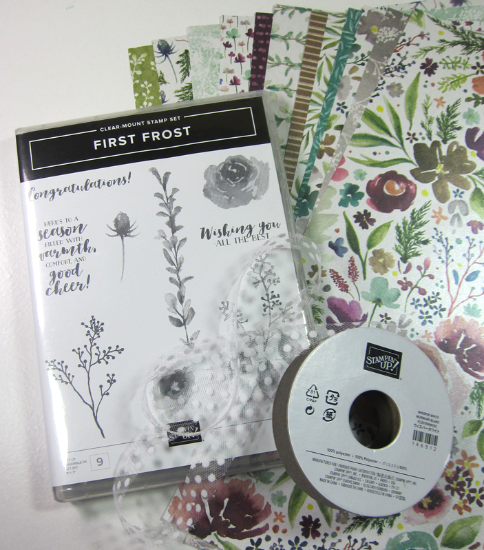 Frosted Floral kit contents