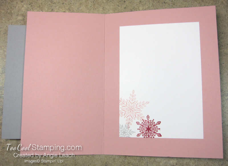 Snow is glistening nontraditional colors - blushing 4