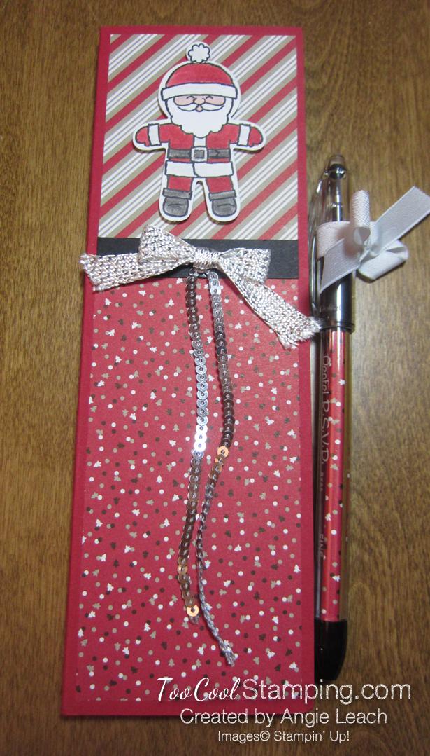 Santa List with Pen