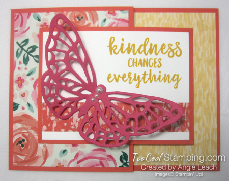 Springtime Impressions Joy Fold Cards - garden impressions