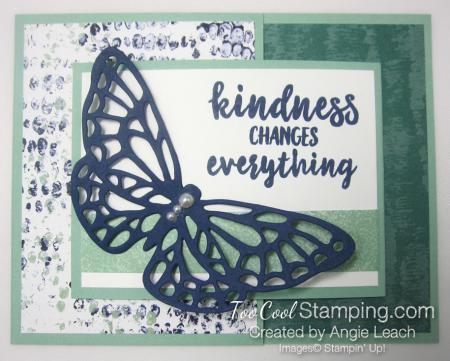 Springtime Impressions Joy Fold Cards - tranquil textures