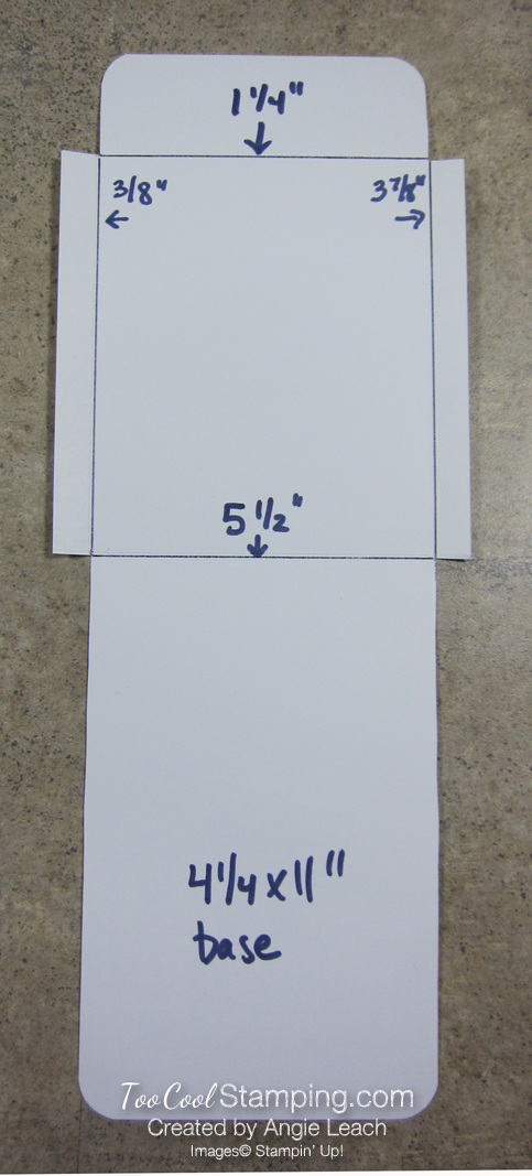 Darlas pull out gift card holders - template