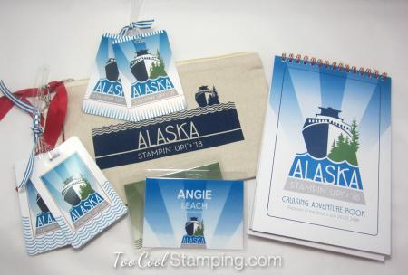 Alaska luggage tags