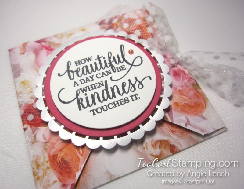 Petal Promenade petal fold card 2