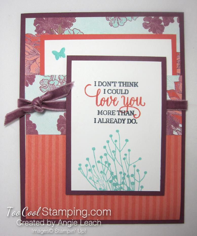 Tea Room Pocket Fold Cards - razzleberry