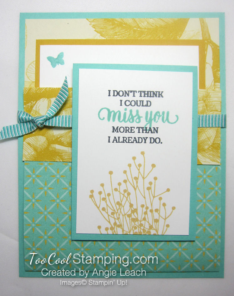 Tea Room Pocket Fold Cards - coastal cabana
