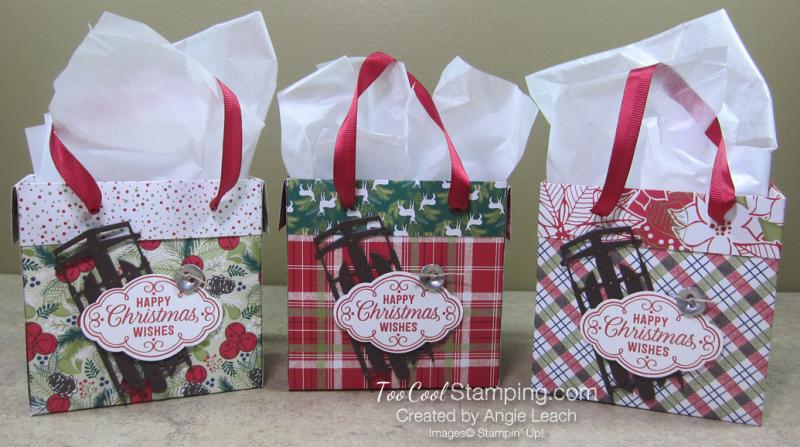 Dsp mini gift bags - trio 1