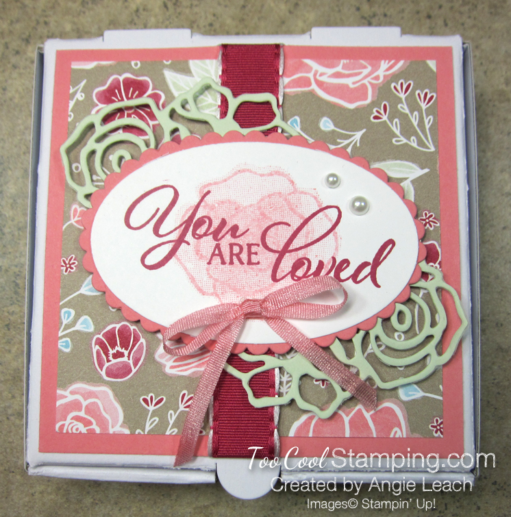 You are loved box - flamingo 2