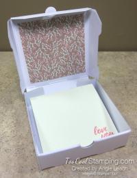 You are loved box - sea foam 4