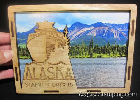 Alaska photo frame