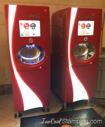 Ship - coke machine