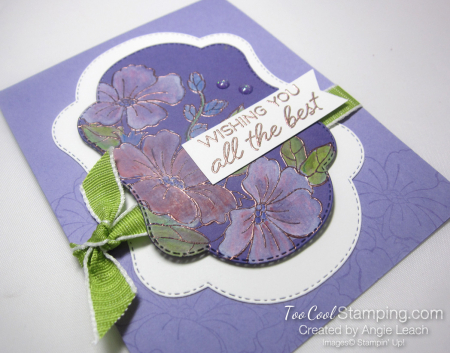 Blended Seasons White Wash Watercolor - heather 2