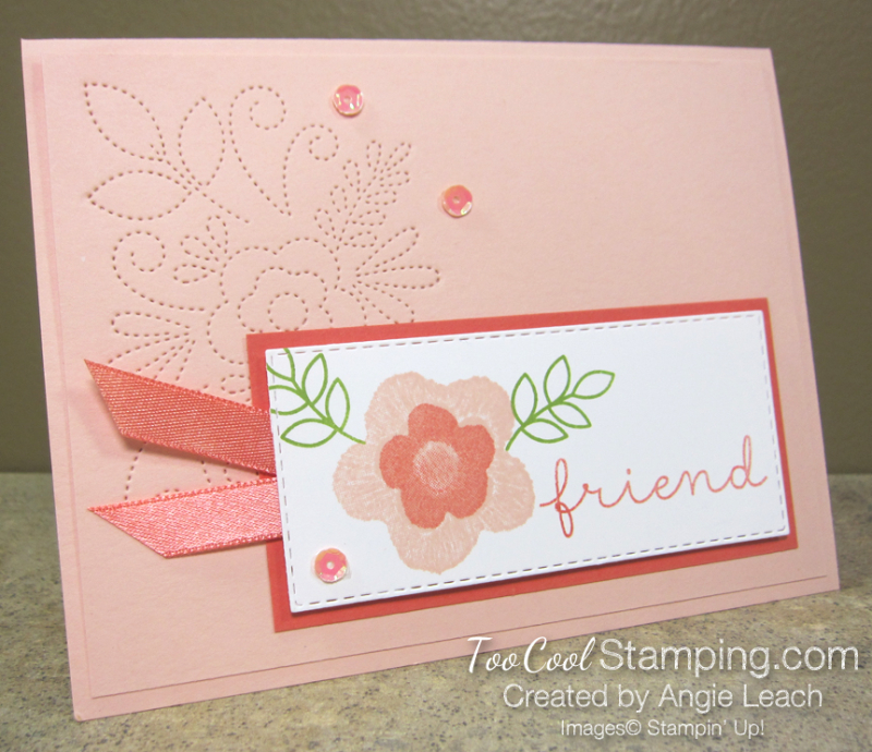 Needle & Thread friend - coral 2