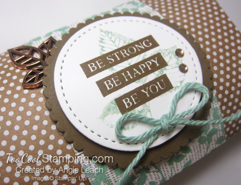 Be Strong Pillow Boxes - mint 2