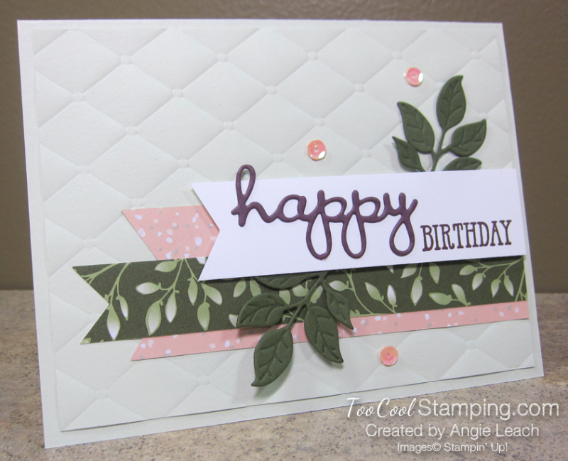 Floral Romance Well-Said - sea foam