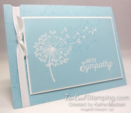 Dandelion Wishes Sympathy 3 - Kathe