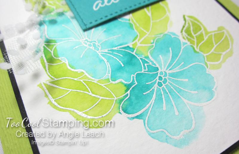 Blended Seasons Watercolor Wash - lime 4