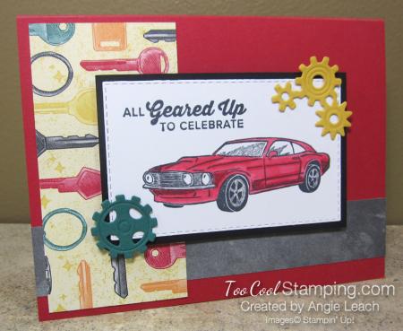 Geared up garage ko - red