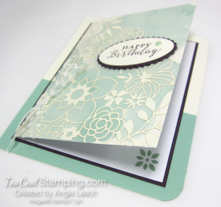Delightfully detailed note card cards - mint 5