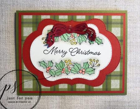 Blended seasons merry christmas label - susan legits
