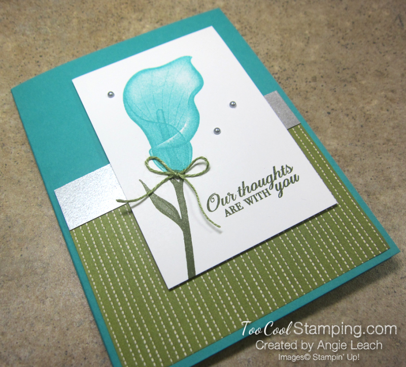 Lasting lily needlepoint nook - bermuda 2