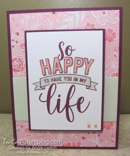 So Happy In My Life - razzleberry