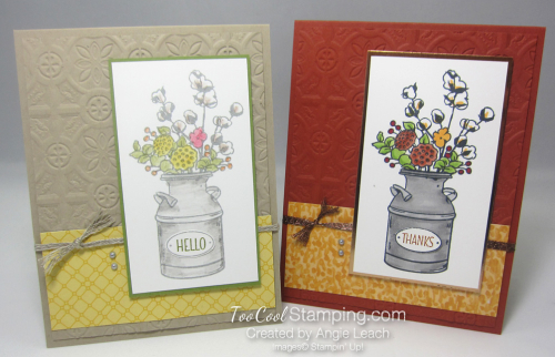 Country Home tin tile - two cool