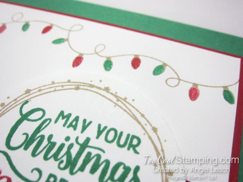 Bright christmas bulb strand - clover 3