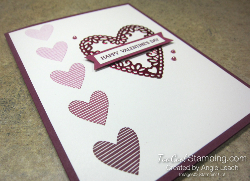 Meant To Be Foil Heart Ombre - lovely lipstick 2