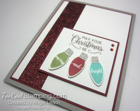 Making christmas merry & bright - cherry 3