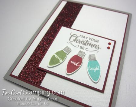 Making christmas merry & bright - cherry 3
