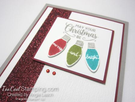 Making christmas merry & bright - cherry x2