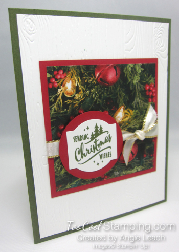 Paper sampler cards - christmas wishes