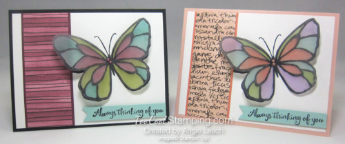 Beautiful Day Vellum Butterfly - two cool