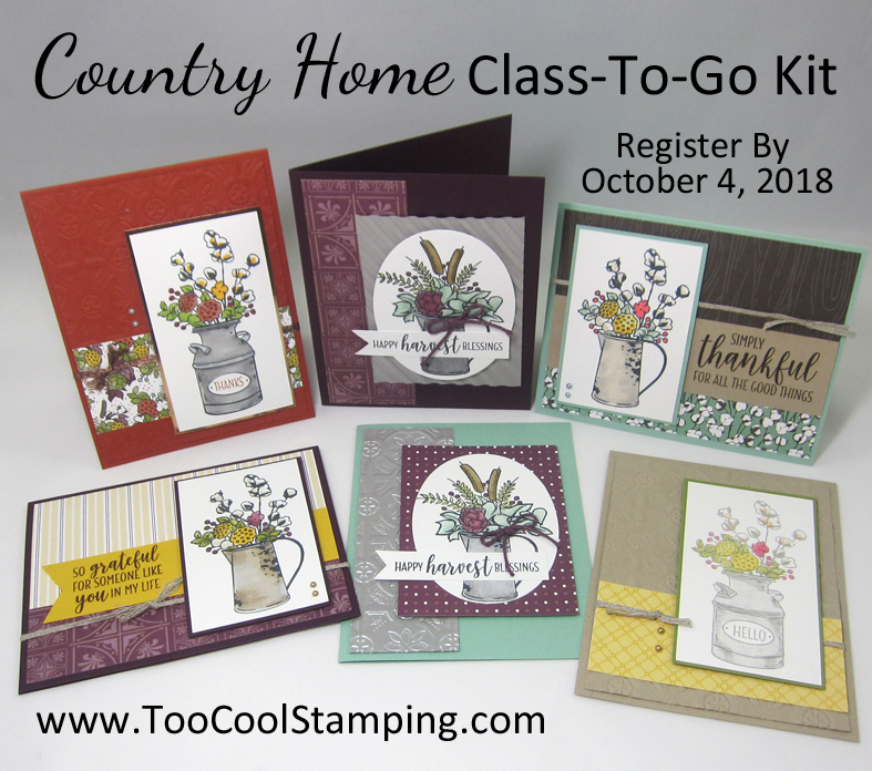 Country home class banner