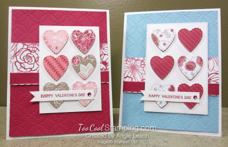 All My Love scallop hearts - two cool