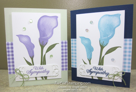 Lasting lily gingham - two cool