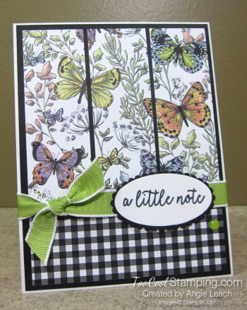 Botanical Butterfly Panels - wildflower 1