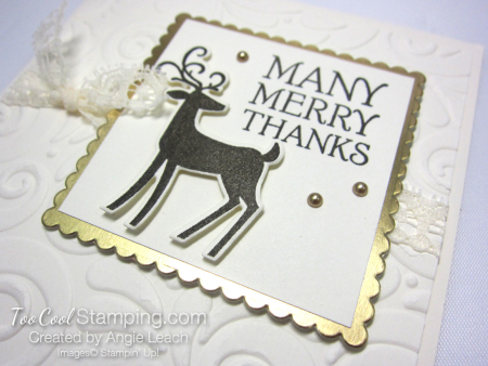 Dashing deer merry - square many merry 3
