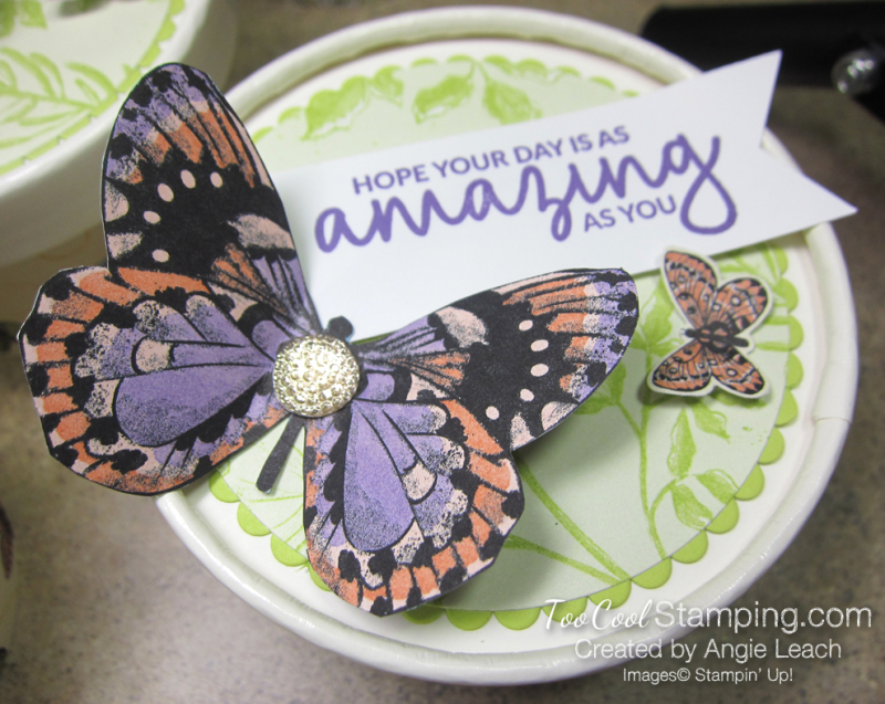 Butterfly sweet cups - lid 3