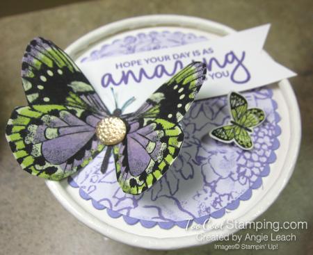 Butterfly sweet cups - lid 9