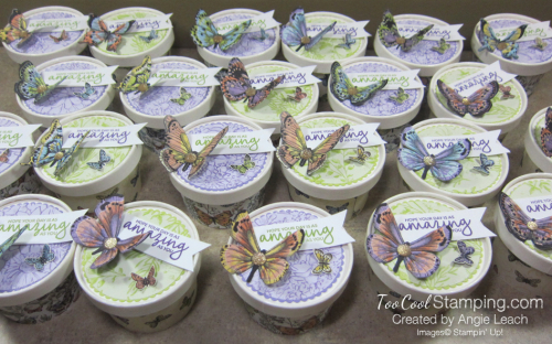 Butterfly sweet cups - group 2