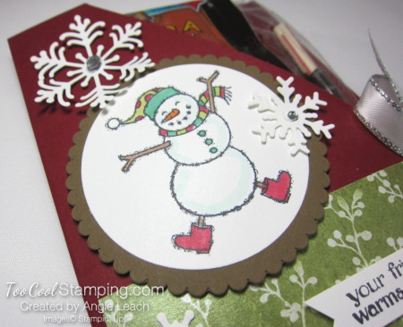 Spirited snowman hot cocoa pouches - cherry cobbler 3