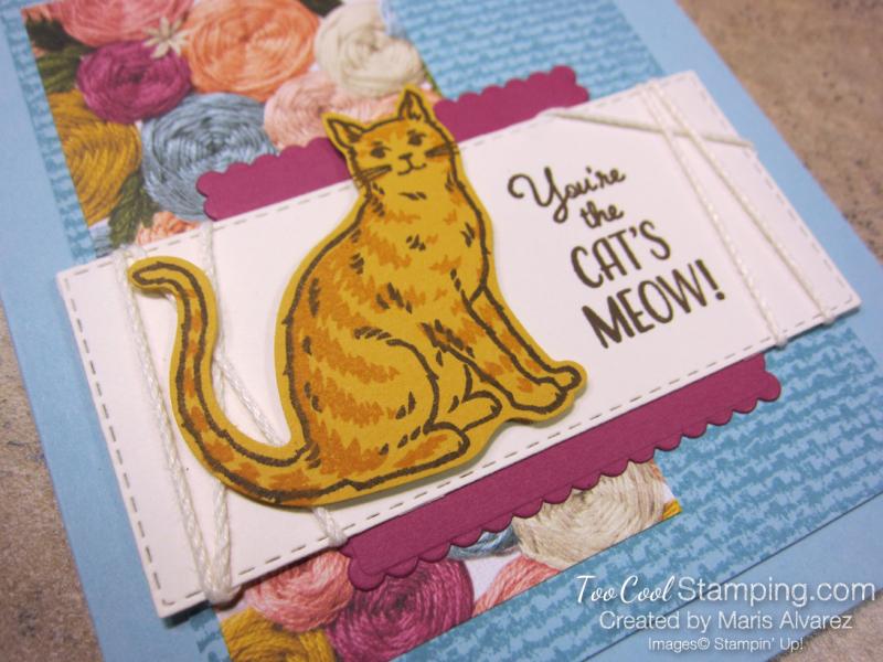 Nine Lives Cat's Meow - Marisa Alvarez