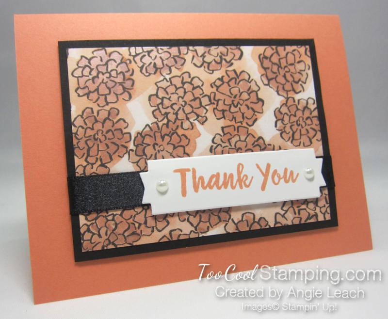 Grapefruit grove thank you card